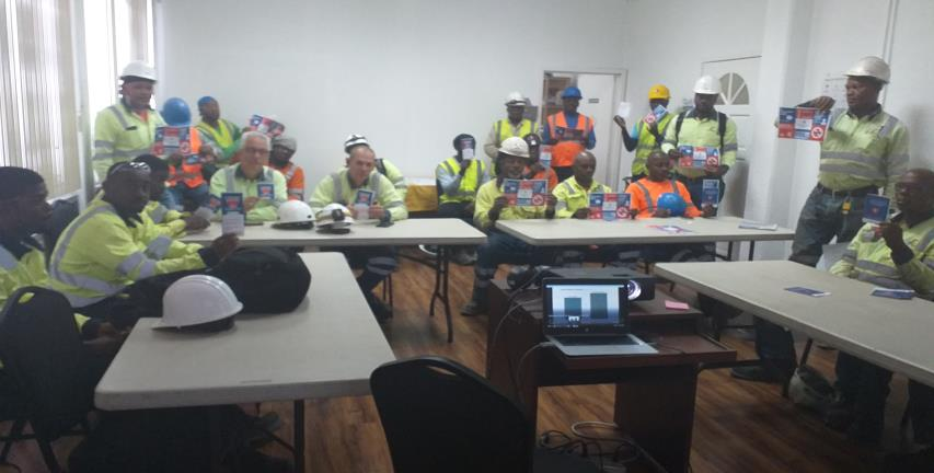 Employees and contractors introduced to the Healthy Heart campaign