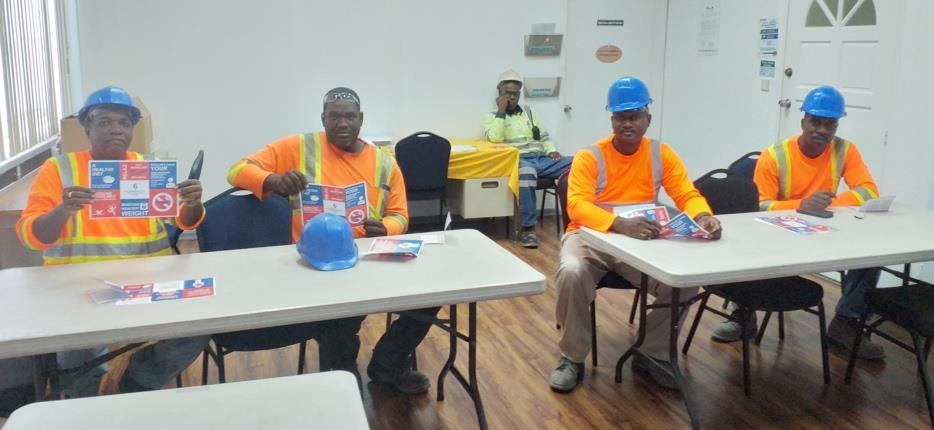 Maintenance Staff receives tips for a Healthy Heart